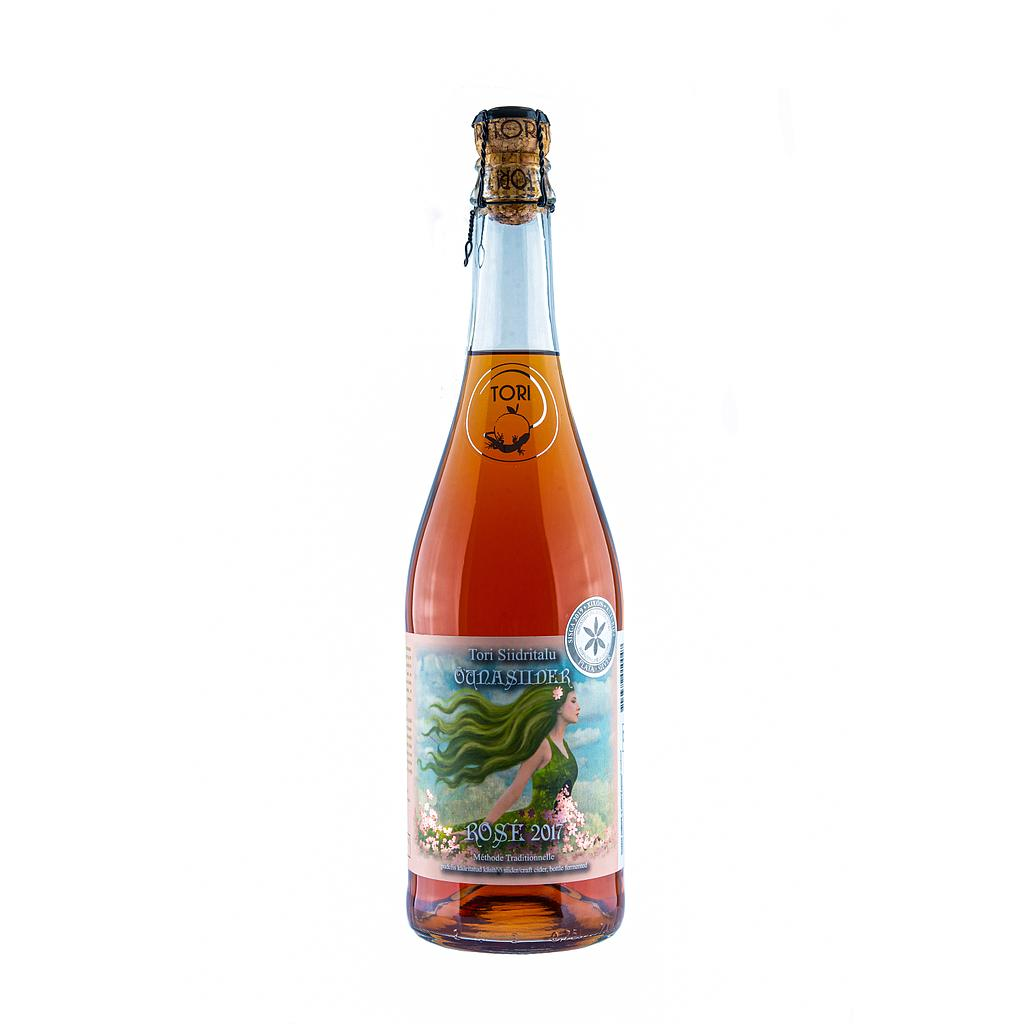 Tori Cider Rosé Méthode Traditionelle 75cl